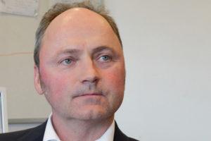 Dr. Jörg Szarzynski sprach über Katastrophenschutz. Foto: Hannah Weigelt