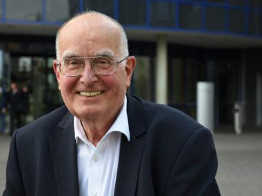Prof. Dr. Uwe Wiemken sprach über die Entstehung der offenen Gesellschaft. Foto: Artem Sandler